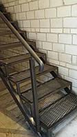 Лестница из металла в стиле Лофт, фото 1