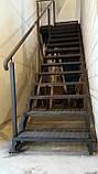 Лестница из металла в стиле Лофт, фото 2