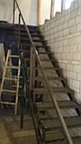 Лестница из металла в стиле Лофт, фото 4