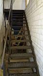 Лестница из металла в стиле Лофт, фото 5