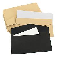 50Pcs Винтаж Пустые конверты для упаковки Подарочная банковская карта