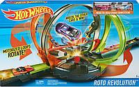 "Моторизированный Трек Хот Вилз ""Скоростноевращение"" Hot Wheels Roto Revolution Trackиз США, фото 1"