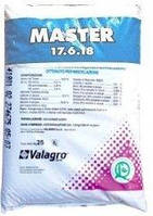 Удобрение Мастер / Master 17+6+18, Valagro 25 кг