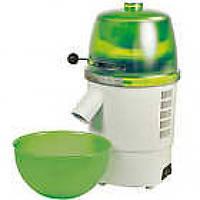 Электрическая  домашняя мельница для помола зерна Hawos Novum, зелено-белая