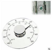 Ясно Фаренгейта градусов Цельсия Круговая Открытый термометр гигрометр Измеритель температуры и влажности