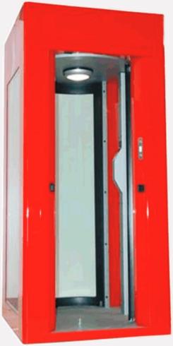 Шлюзовой тамбур безопасности С72 Cherry
