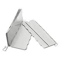 Кемпинг 10 Тарелки Складного Ветер щит Picnic BBQ Готовя Газовую плиту алюминиевой поверхности экрана