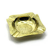 Пепельница бронзовая (12,5х12,5х2 см)