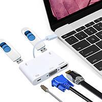 Type C USB 3.1 Мужской к женскому кабелю мультимедийного интерфейса высокой четкости для Macbook Type C Устройства