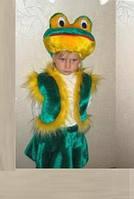 Детский карнавальный костюм лягушка для девочки