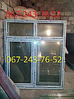 Металлопластиковые окно новое 1.7м*1.45м!