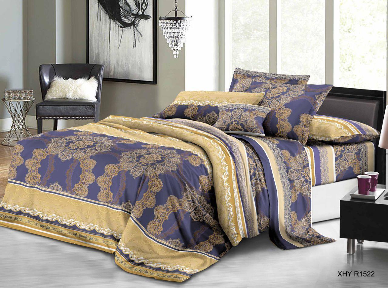 Двуспальный набор постельного белья 180*220 из Полиэстера №228 Черешенка™