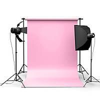 5x7ft Чистый фон фотографии Розовый для фонового изображения для студии