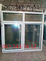 Металлопластиковые окно новое 1.7м*1.65м