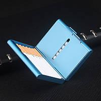 Laifu TS-K2 4 Цвета Алюминиевый сплав Сигарета Чехол Хранение табака Коробка Аксессуары для курения контейнеров