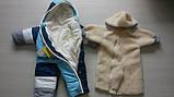 Дитячі зимові комбінезони з відстібними хутром оптом і в роздріб, фото 8