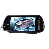 7-дюймовый ЖК-дисплей Mp5 Bluetooth Камера заднего вида заднего вида парковки монитор зеркала