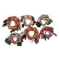 3 Устанавливает линию Dupont Электронный блок Общий кабель модуля Датчик Набор Для Arduino - 1TopShop