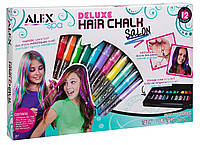 Мелки и украшения для волос 12 цветов, ALEX Spa Hair Chalk Оригинал из США, фото 1