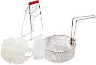 Набор аксесуарів для мультиварок Rotex( баночки для йогурта,фрітюриця)