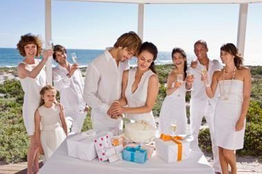 Лучшие места для проведения свадьбы летом