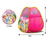 """Детская палатка """"Принцессы"""" в сумке HF012"""