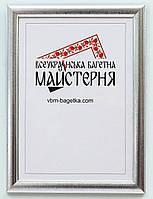 Рамка А5, 15х21 Серебро