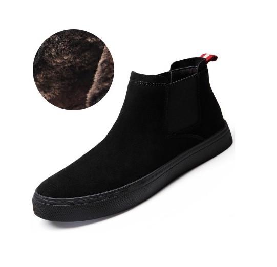 9c53766c9502 Демисезонные мужские ботинки без шнурков на меху - Mod Club в Житомире