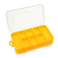 Двойные электронные пластиковые детали Инструмент Коробка Инструментbox Шкатулка SMD SMT Болт Хранение компонентов Коробка