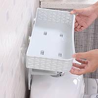 Honana BX-820 Двухслойные стеллажи для хранения без ротанга Ногти для хранения багажа Туалетная крышка Ванная комната Полотенце