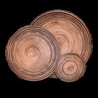 """Тарілка """"Селянська"""" діаметр 10 см розміри в асортименті"""