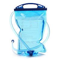 IPRee ™ 1L Мягкий водный пузырь Сумка Гидратационный пакет с питьевой соломинкой Кемпинг Пеший туризм