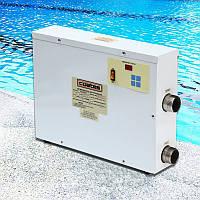 9KW 220V цифровой бассейн Бассейн SPA горячей воды термостат электрическая вода Нагреватель