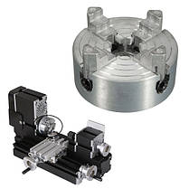 1.8-56mm Mini Metal 4 Челюсти Токарный патрон токарный станок аксессуаров-1TopShop, фото 2