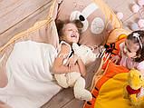 Слипик - комплект для сна 4в1 Нежная Кошечка плед конверт с подушечкой, фото 6