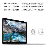 PET Clear Прозрачный Анти Ослепление экран протектор для Macbook Air 11.6 /13.3 Pro 13,3 Retina 13,3 /15.4
