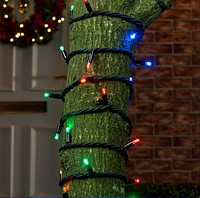 """Вулична гірлянда """"Нитка"""" 200 LED 14 м. для оформлення та декорування"""