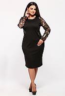 Нарядное  платье Адель черное