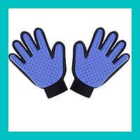 Перчатка для чистки животных Pet Brush Glove