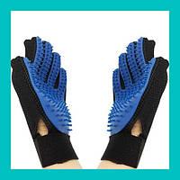 Перчатка для чистки животных Pet Brush Glove!Акция