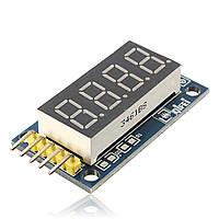 10 штук 42x24x12mm 4 бита цифровой Трубка Светодиодная плата Дисплей модуля для Arduino