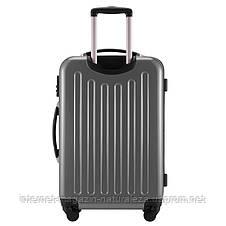 Дорожный чемодан Hauptstadtkoffer Alex Mini серебряный, фото 3