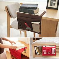 Прикроватные Карманы для хранения Организатор Бытовая Книга Журнал Remotes хранения