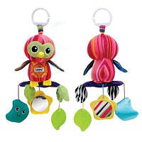 Развивающая игрушка-подвеска Lamaze Сова-погремушка