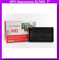 """GPS Навигатор EL7002  7"""",Bluetooth 4gb,GPS с Bluetooth в машину!Опт"""