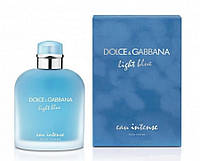 Dolce & Gabbana Light Blue Eau Intense Pour Homme туалетная вода 100 ml. (Дольче Габбана Лайт Блю Еау Интенс)