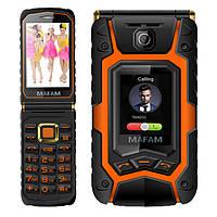 MAFAM X9 Land Flip Rover Phone 3.5 дюймов 2500mAh Dual Screen Dual SIM FM Long Standby Мобильный телефон