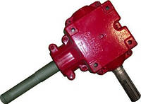 Редуктор угловой выгрузного шнека нижний Кейс (Case) 2366/2166 1347336C2
