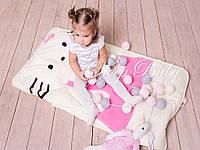 Слипик - комплект для сна 4в1 Китти конверт с подушечкой, фото 1