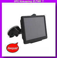 "GPS Навигатор EL7008  7"",автомобильный навигатор,автомобильный GPS,GPS в авто!Акция"